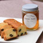 濃厚酒粕ケーキと湘南葉山石井養蜂園のハチミツ